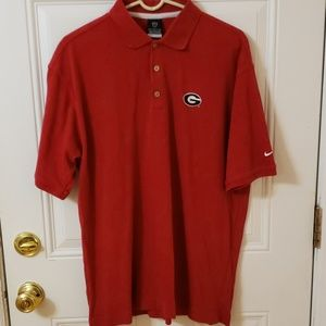 Nike, dry-fit Georgia Bulldog, Mens large shirt